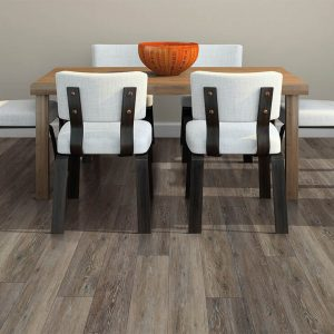 Small dining table on Vinyl flooring   Kirkland's Flooring