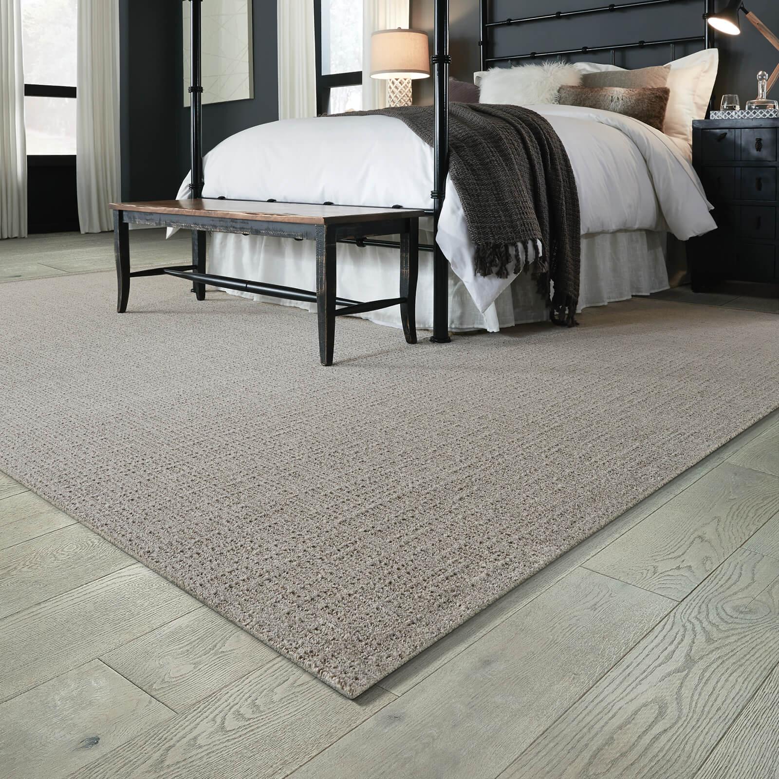 Spacious bedroom | Kirkland's Flooring