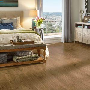 Urban walnut laminate flooring | Kirkland's Flooring