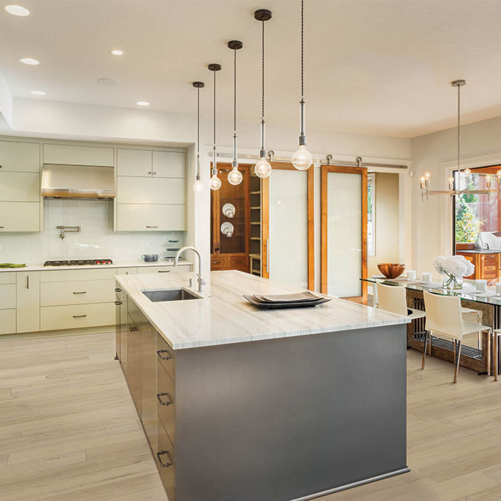 Countertop and cabinets | Kirkland's Flooring