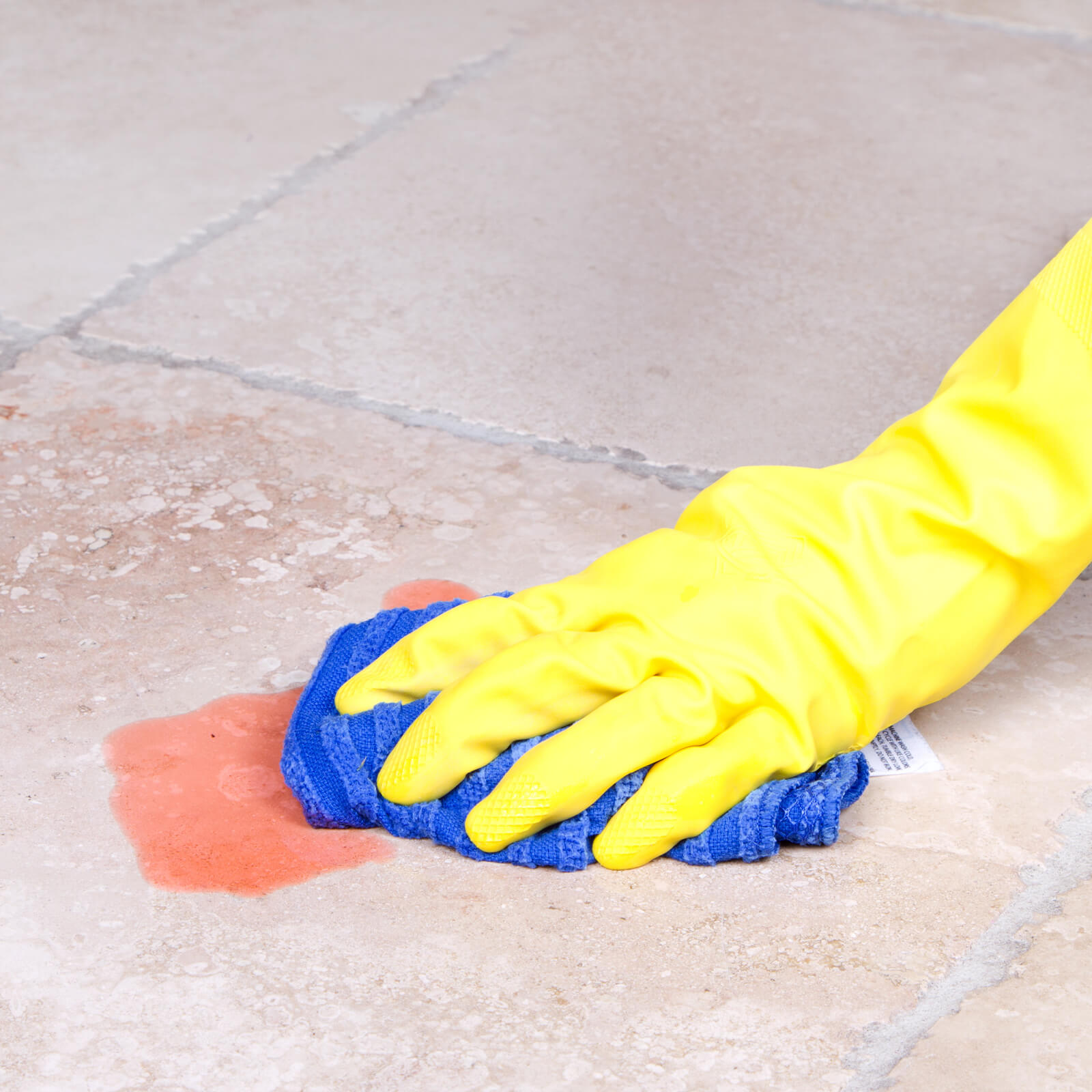 Cleaning a spill off of tile flooring | Kirkland's Flooring