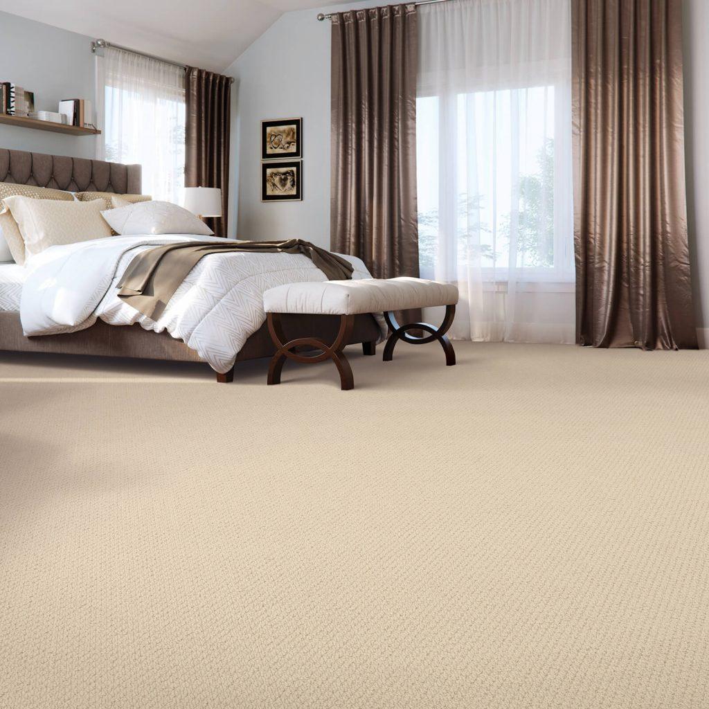 New carpet in bedroom   Kirkland's Flooring