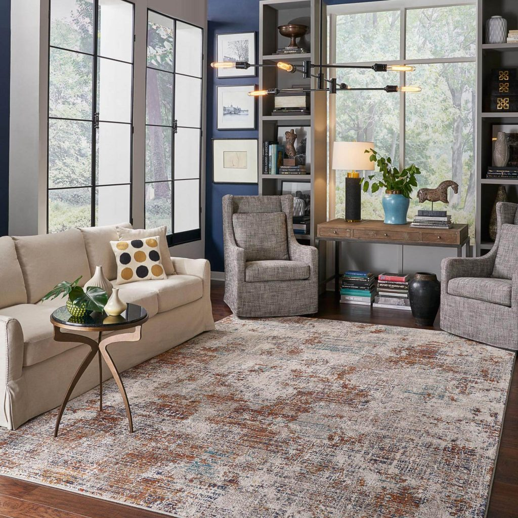 Choosing the Right Size Area Rug | Kirkland's Flooring