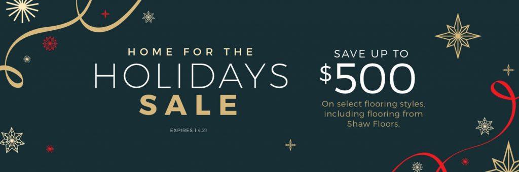 Home for the Holidays Sale | Kirkland's Flooring