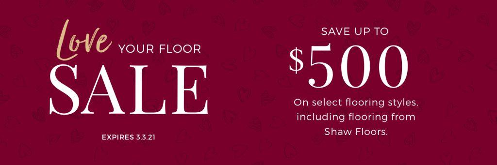 Love Your Floor Sale | Kirkland's Flooring