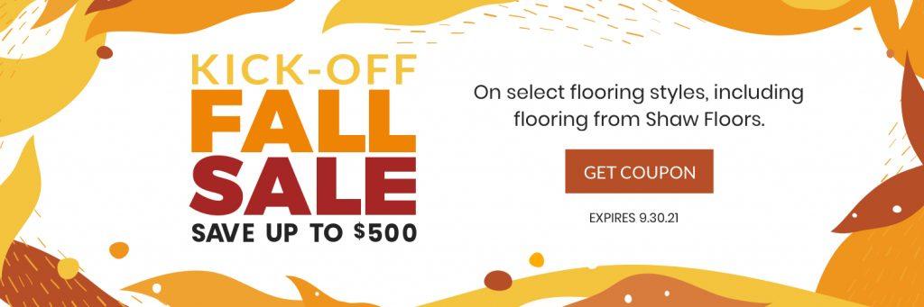 Kick Off Fall Sale   Kirkland's Flooring