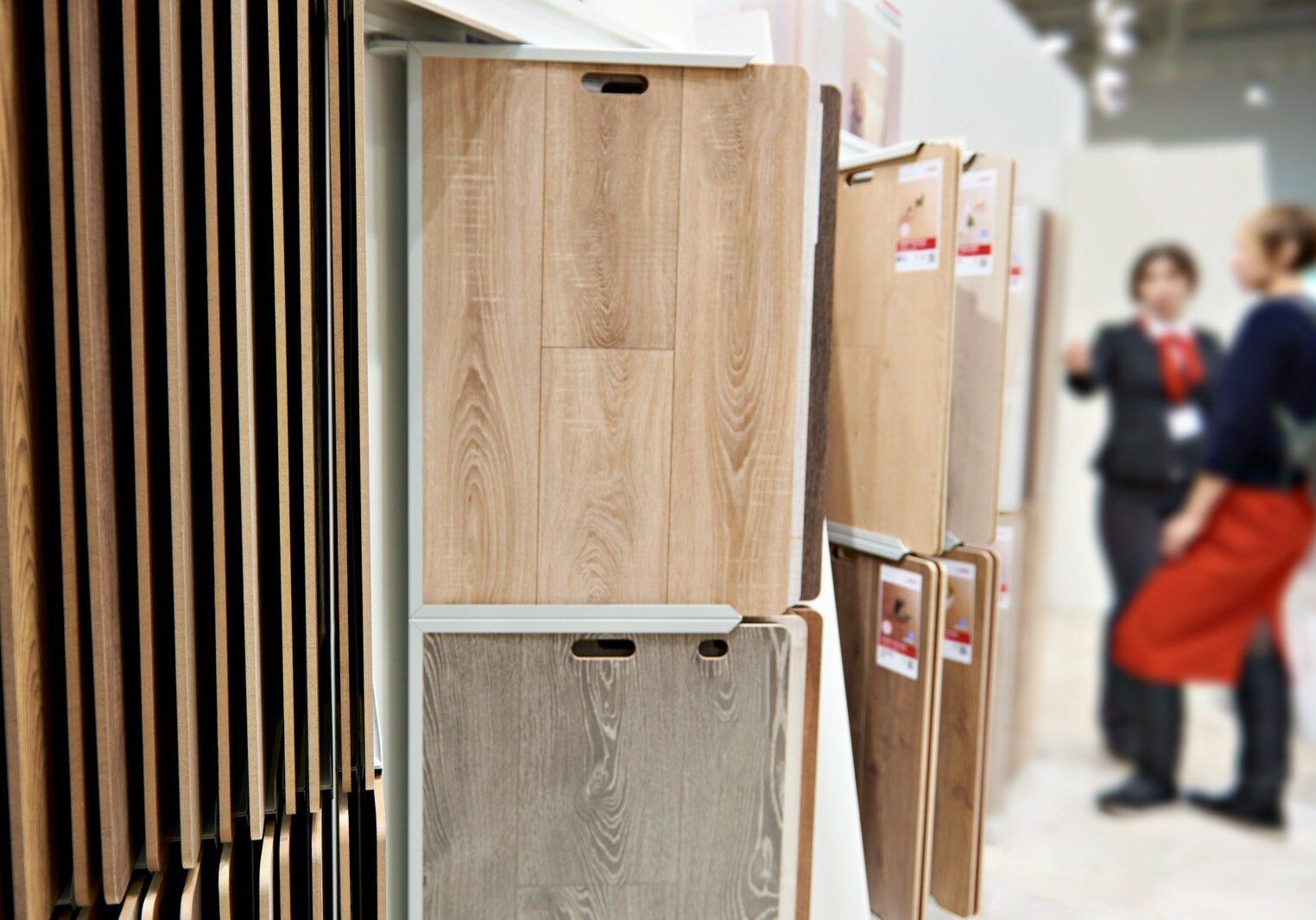Buyer and seller discuss the goods in Evans, GA hardware store | Kirkland's Flooring